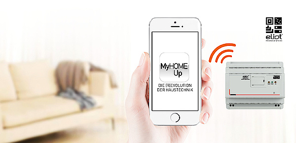 MyHOME / MyHOME_Up bei Elektro Teuber in Borna